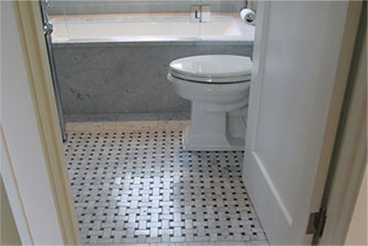 Magnolia marble bathroom